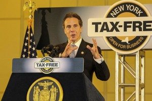 Governor Cuomo Details Tax-Free NY Initiative