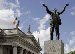 Jim Larkin Statue in Dublin