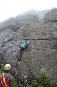 New Rock Climbing Route in Panther Gorge