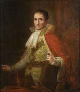 Portrait of King Joseph Bonaparte I by Joseph Flaugier