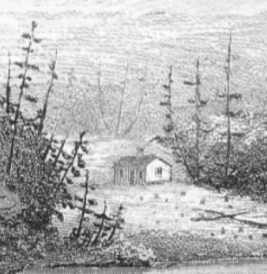 hill above hut