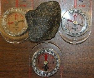 magnetic ore pulluing compass bearings
