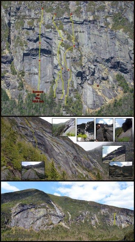 Panther Gorge Rock Climbing-Rumours of War