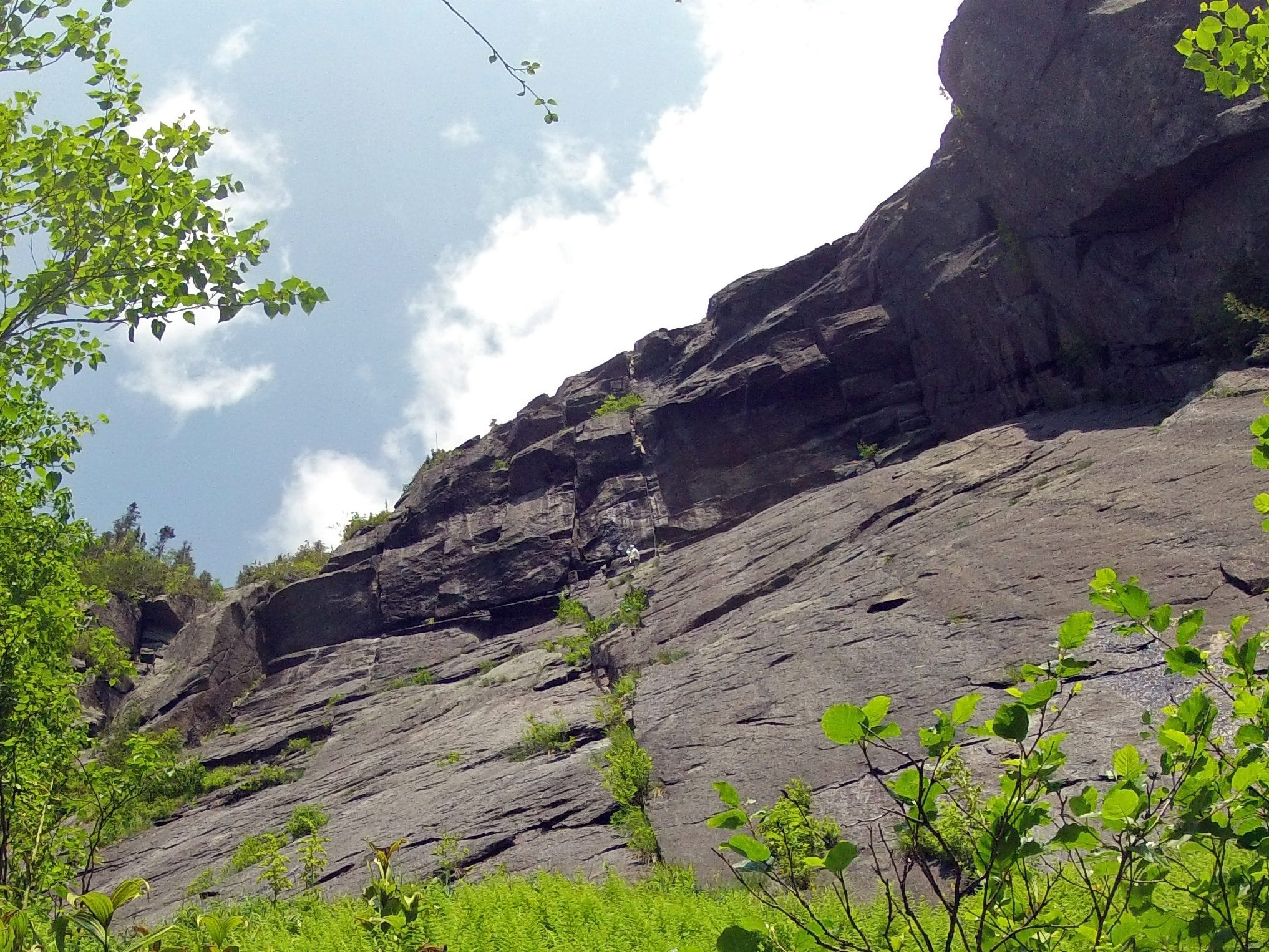 Rock Climbing: A New Route Deep In Panther Gorge