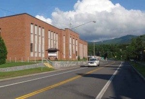 the former lyon mountain prison by Phil Brown
