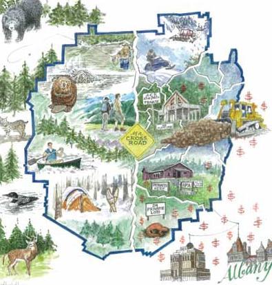 New Report: The Adirondack Park at a Crossroad