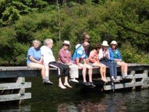 Dock - ist Silent Canoe Trip