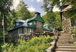 Fulton Chain great camp lodge