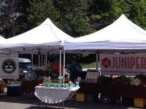Juniper Hill Farm at the Lake Placid Farmers Market
