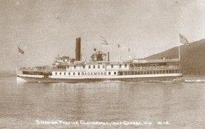 Lake George steamer Sagamore