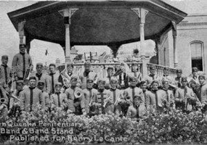 The San Quentin inmate band in a photo taken at about the time of Dannemora escape