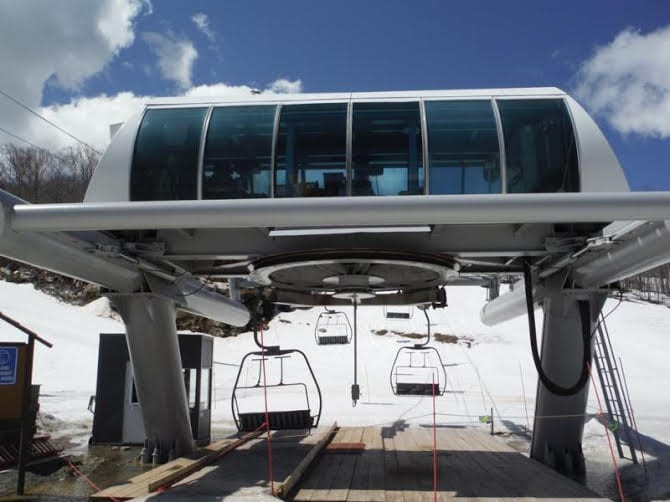 West Mountain Adding Triple Chairlift - - The Adirondack