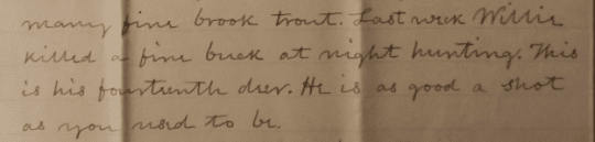 willie letter