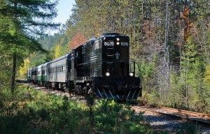 Adirondack Scenic Railroad. Photo by Susan Bibeau