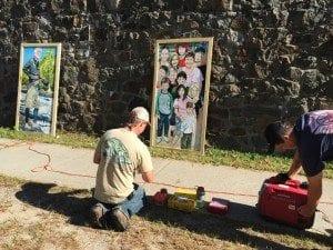 Burnett Galvagni Swedberg installation