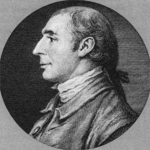 Governor Morris as a young man