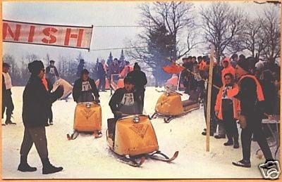 Snowmobile Racing in the Adirondacks - - The Adirondack Almanack