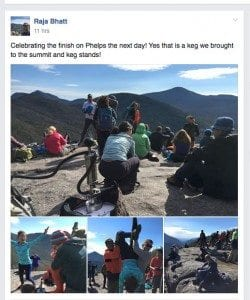 Hiker Ticketed After Keg Party Atop Adirondack High Peak
