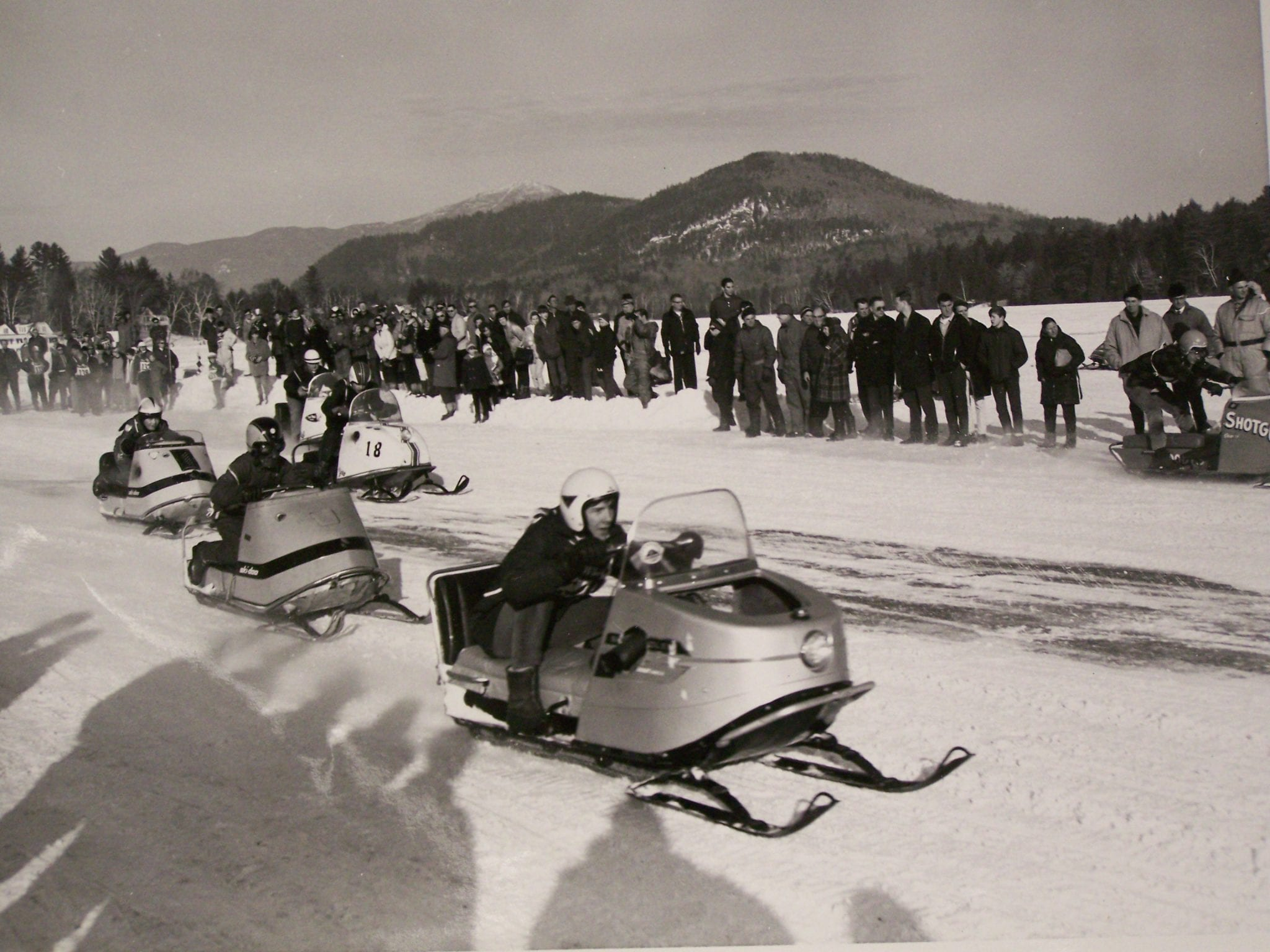 Snowmobile Racing in the Adirondacks - - The Adirondack Almanack