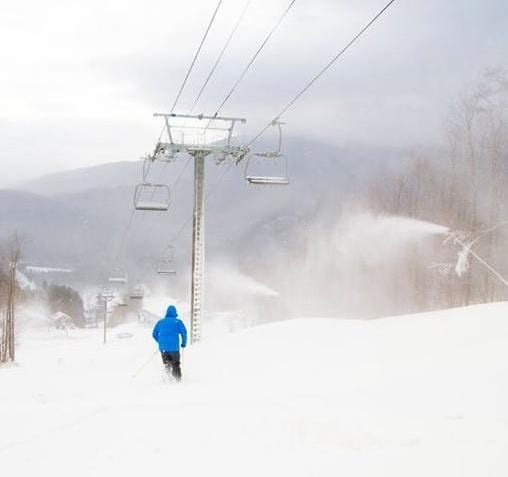 2015 Whiteface Skiing Season - Fox Trail on Nov 24, 2015 - ORDA / Whiteface Photo