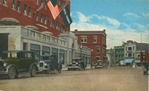 Hotel Saranac postcard, courtesy of Nora Bouvier