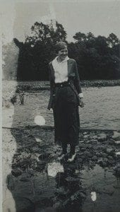 Amelia Earhart on Lake George 2