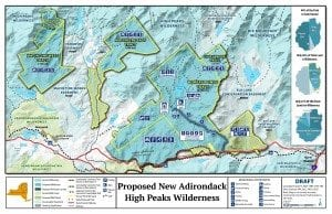 Boreas Ponds Wilderness PRoposal Map