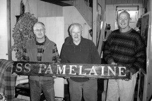 Doc Saunders with Bob Benway and Joe Zarzynski - Lake George Mirror File Photo