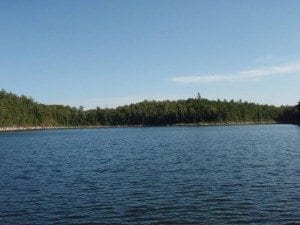 Lost Pond in the Pharoah Lake Wilderness by David Pedler