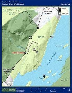 Watch Hill Trail, Hamilton County - DEC Map