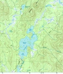 1999 Marcy map