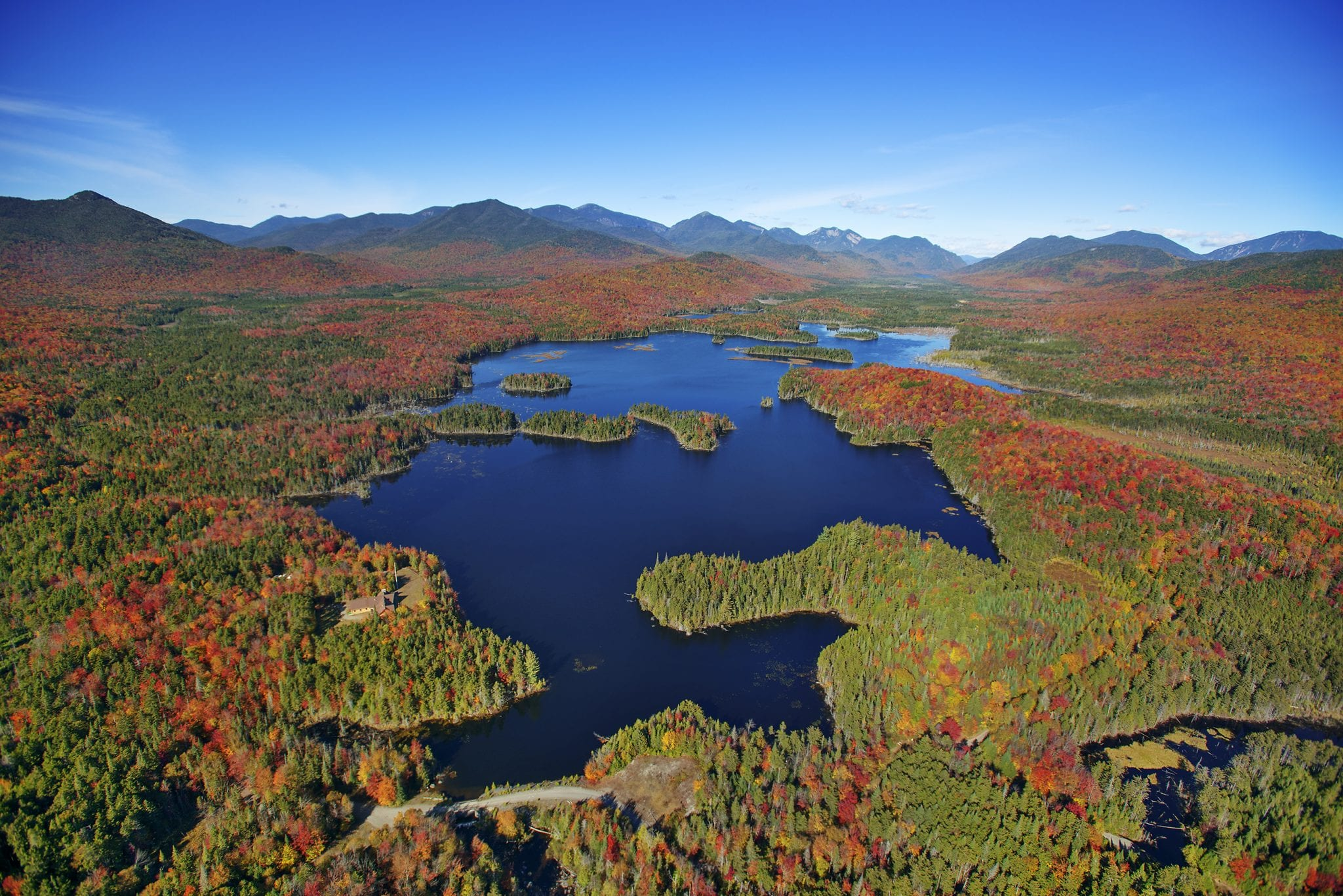 Boreas Ponds Dam photo by Carl Heilman/Wild Visions, Inc. courtesy of the Adirondack Council.