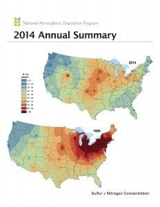 NADP Trends Map 2014