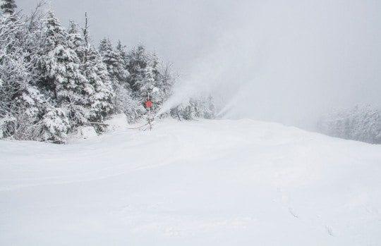 Snow Guns On Whiteface Mid-Dec (ORDA-Whiteface Photo)