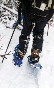 Modern lightweight snowshoes (Nancie Battaglia photo)