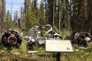 P3B Loon Lake Bomber Idaho crash site 01 Plane3