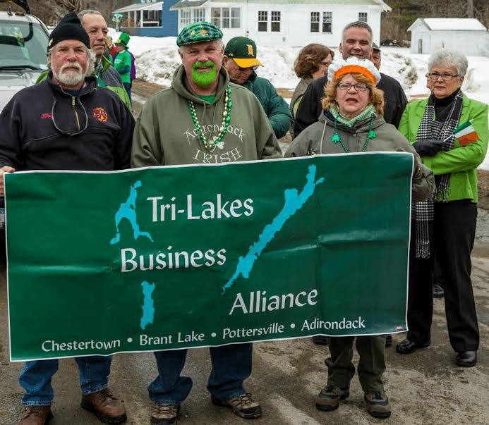 St Patricks parade in Chestertown