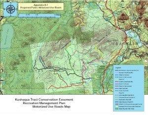 Kushaqua Roads Map