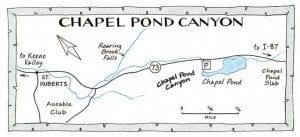 chapel pond map