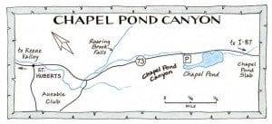 chapel pond map