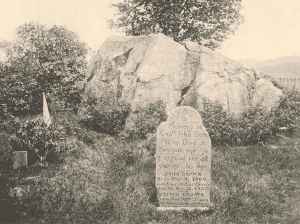 john browns gravestone