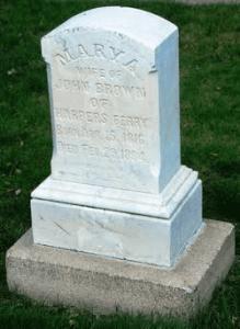 mary gravestone