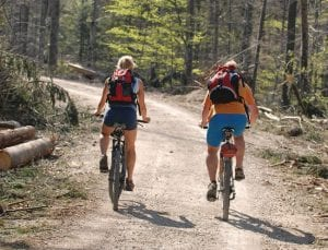 Under the management plan, mountain biking would be allowed on dirt roads in Primitive Areas.BigStockPhoto.com