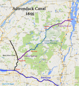 1846 adk canal map