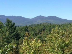 A144-acre property in Jay with a view of the Sentinel Range being conserved with a conservation easement by the Lake Placid land Conservancy.