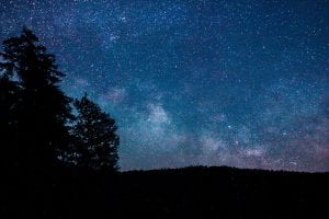 Night Sky of Cranberry Lake by Jessica Tabora