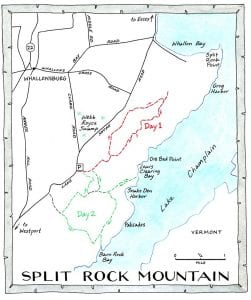 Split Rock MountainNANCYBERNSTEINILLUSTRATION.COM