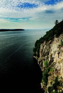 The Champlain Palisades.PHOTO BY KAREN STOLZ