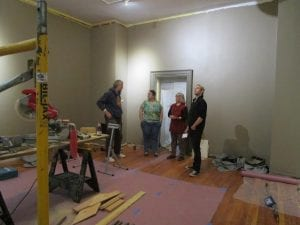 adk history gallery construction