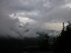 Adirondack Rain Storm